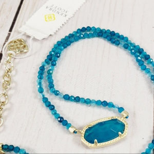Kendra Scott beaded Elisa necklace